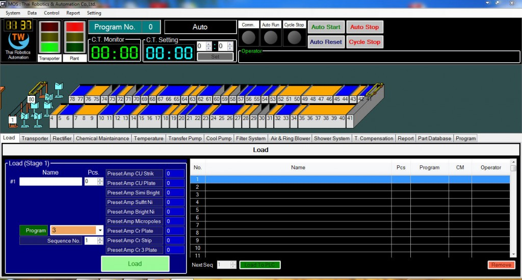 software for plating machine,mos sotfware for plating